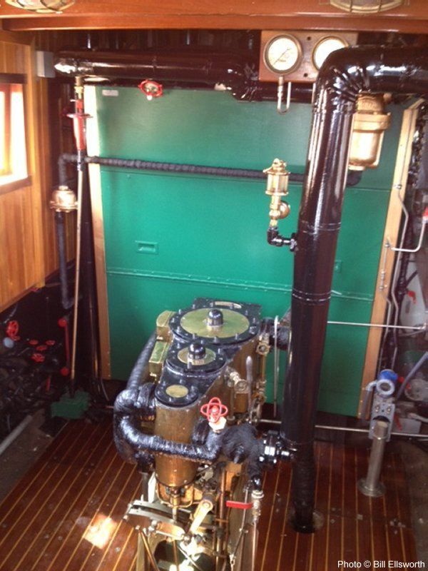 The Engine Room From Way Back: Steamboat Mascot From New Orleans