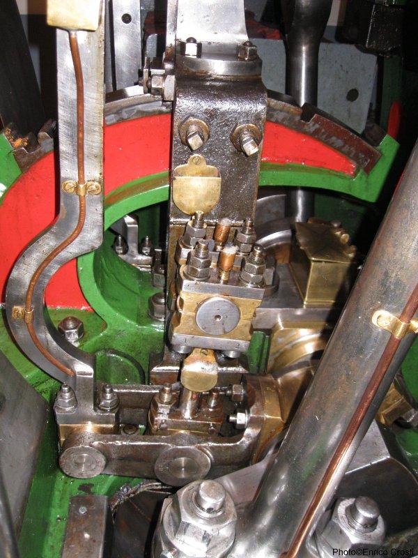 Army Tug Engine Room: Steamship Claus D From Hamburg
