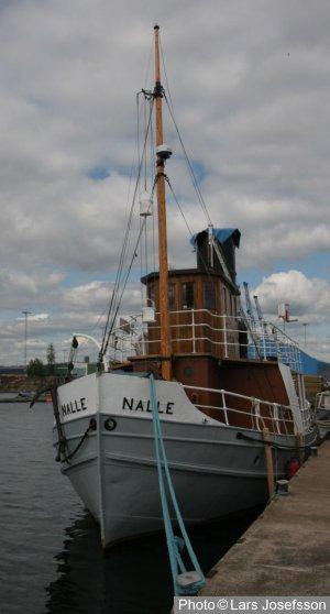Army Tug Engine Room: Steam Tug Nalle From Oskarshamn