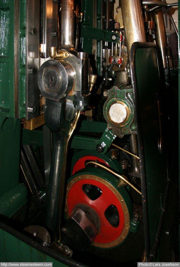 Steam Ship Engine Room: Steamship Blidösund From Norrtälje