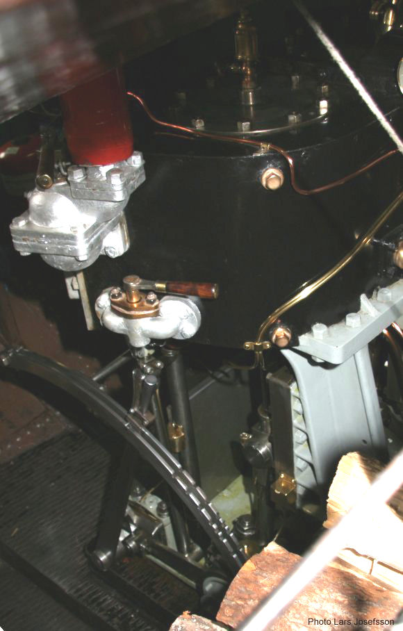 Cruise Ship Engine Control Room: Steamship Boxholm II From Boxholm
