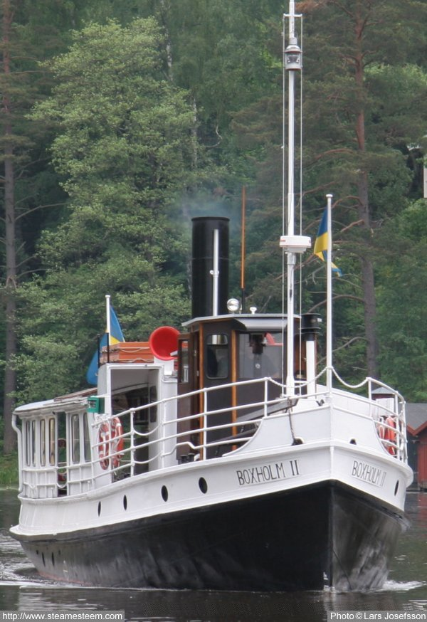 Steam Ship Engine Room: Steamship Boxholm II From Boxholm