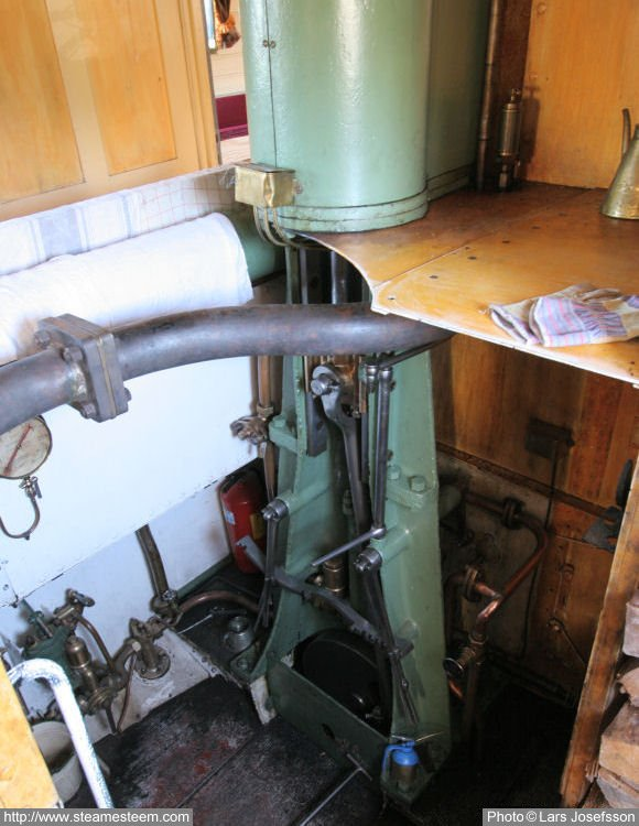 The Engine Room From Way Back: Steamship Freja Af Fryken